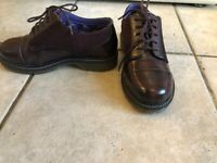 Moshulu burgundy/brown shoes. Size 3