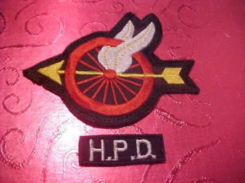 HONOLULU HAWAII TRAFFIC POLICE PATCH SHOULDER SIZE USED