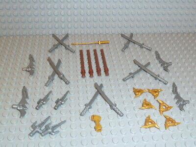 es Waffen Set Katana Wurfsterne Stäbe Schwerter Sai Dolch N11 (Sai-dolch)