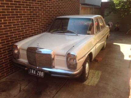 1973 Mercedes-Benz 280 Sedan Essendon Moonee Valley Preview