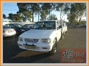 1999 Holden Rodeo TFR9 DX White 5 Speed Manual Cab Chassis Warwick Farm Liverpool Area Preview