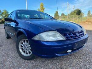 2000 Ford Falcon AU Classic Blue 4 Speed Automatic Sedan