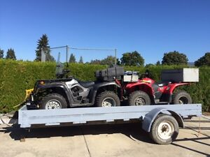 For Sale Quad and/or Trailer