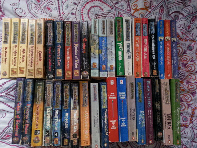 Forgotten Realms Fantasy books + others  | in Newcastle, Tyne and Wear |  Gumtree