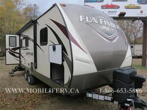 FUN FINDER 21RB AMAZING COUPLES UNIT - HUGE KITCHEN - LUXURY
