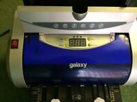 Galaxy Electric Folding Machine, comes with instruction booklet & 2 fold plate.