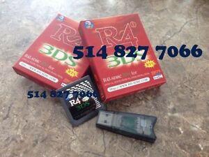 Carte R4i RTS Multijeux Nintendo DS lite - DSi - XL - 3DS - 2DS