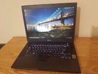 Dell Latitude E6500, Intel Dual Core T9900, 4GB RAM, 250GB HDD, Nvidia Quadro Graphics, Webcam