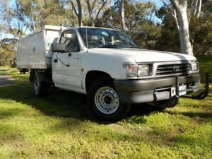 1999 Toyota Hilux RZN149R 4x2 5 Speed Manual Cab Chassis Pooraka Salisbury Area Preview