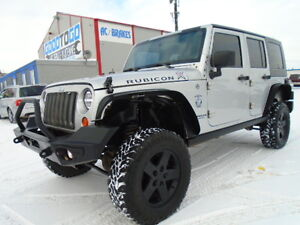LIFTED-2008 JEEP WRANGLER RUBICON UNLIMITED--CONVERTABLE