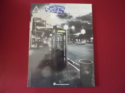 Spin Doctors - Pocket full of Kryptonite . Songbook Notenbuch Vocal Guitar