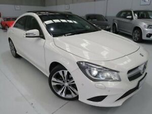 2014 Mercedes-Benz CLA200 C117 DCT Ibis White 7 Speed Sports Automatic Dual Clutch Coupe Seaford Frankston Area Preview