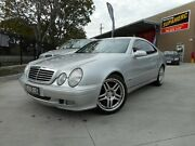 2001 Mercedes-Benz CLK320 C208 Elegance Silver 5 Speed Auto Tipshift Coupe Archerfield Brisbane South West Preview