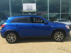 2018 Mitsubishi ASX XC MY18 LS 2WD Blue 6 Speed Constant Variable Wagon Fyshwick South Canberra Preview