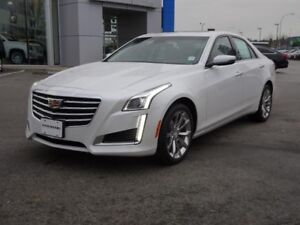 2018 Cadillac CTS Sedan Luxury AWD