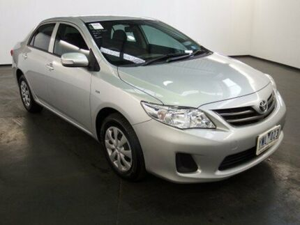2012 Toyota Corolla ZRE152R MY11 Ascent Silver Pearl 4 Speed Automatic Sedan Albion Brimbank Area Preview