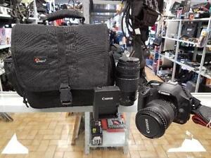 APPAREIL PHOTO CANON REBEL T1I 18 MEGAPIXELS POUR 189.95$$