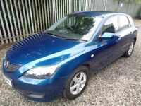 MAZDA 3 1.6 TS 2006 5 DOOR HATCHBACK BLUE 67,000 MILES M.O.T 09/01/18 ONE OWNER EXCELLENT CONDITION