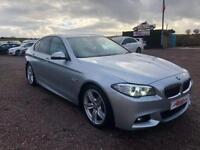 2015 BMW 5 SERIES 2.0 520D M SPORT 4D AUTO 188 BHP DIESEL