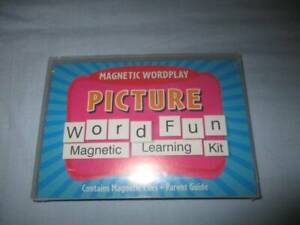 Magnetic Picture Word Fun Learning Kit