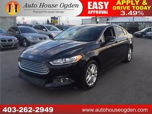 2013 Ford Fusion SE BCAM LEATHER EVERYONE APPROVED