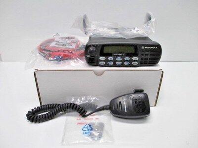 MOTOROLA CDM1550LS+ VHF 160 CH 25-45W 136 - 174 MHz USED WITH NEW ACCESSSORIES