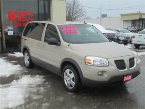 2008 PONTIAC MONTANA  ! LOW KM'S ! WE FINANCE !