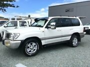 2005 Toyota Landcruiser HDJ100R Sahara (4x4) White 5 Speed Automatic Wagon Tuncurry Great Lakes Area Preview