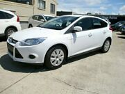 2015 Ford Focus LW MKII MY14 Ambiente PwrShift White 6 Speed Sports Automatic Dual Clutch Hatchback Noosaville Noosa Area Preview