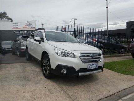 2015 Subaru Outback MY15 2.5I White Continuous Variable Wagon Burwood Whitehorse Area Preview