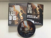 LAST OF US SUR LA PS3 EXCELLENTE CONDITION -25$