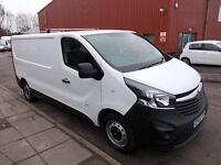 Vauxhall Vivaro 2900 1.6 CDTi 115PS H1 VAN DIESEL MANUAL WHITE (2015)