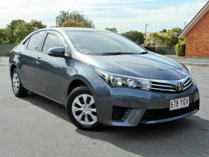 2015 Toyota Corolla ZRE172R Ascent S-CVT Grey 7 Speed Constant Variable Sedan Chermside Brisbane North East Preview