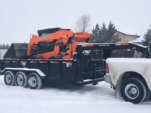 -*New*- SWS 16ft Triple Axle Gooseneck Hydraulic Dump Trailer