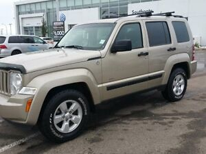 2010 Jeep Liberty Sport 4D Utility 4WD