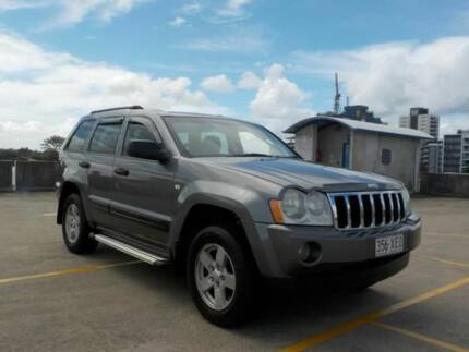2007 Jeep Grand Cherokee WH MY2007 Laredo Grey 5 Speed Automatic Wagon Southport Gold Coast City Preview
