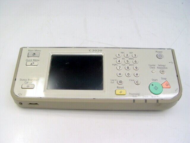 Canon imageRUNNER ADVANCE C2020 Control Panel Assembly