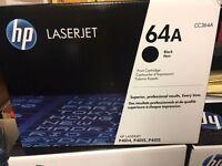 3 New/Unopened CC364A HP Laserjet Print Cartridges For Sale