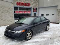 2006 Honda Berline Civic LX (GARANTIE 1 ANS INCLUS)