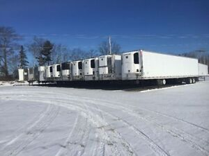 Storage trailers for rent and sale, refrigerated and dry