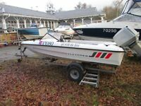 FLETCHER 140GTO SPEED BOAT AND TRAILER