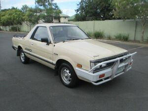 1992 Subaru Brumby Special (4x4) Yellow 4 Speed Manual 4x4 Chermside Brisbane North East Preview