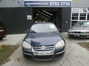 2006 Volkswagen Jetta 1KM Turbo Sedan 4dr DSG 6sp 2.0T [Feb] Blue Sports Automatic Dual Clutch Sedan Condell Park Bankstown Area Preview