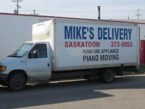 """Call """"MIKES DELIVERY"""" 306 373 0053 for all your hauling needs !"""