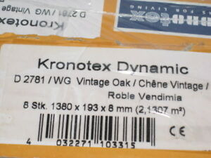 Kronotex Dynamic Vintage Oak Laminate Flooring