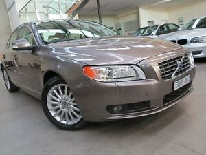 2008 Volvo S80 A Series MY08 D5 Oyster Grey 6 Speed Sports Automatic Sedan Keilor Park Brimbank Area Preview