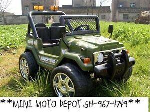 SPECIAL 12 volt VOITURES ELECTRIQUE MINI MOTO DEPOT 514-967-4749