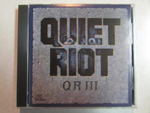 QUIET RIOT~III CD KEVIN DuBROW CARLOS CAVAZO FRANKIE BANALI AUTOGRAPHS 100% REAL