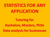 DATA MINING IN R, MATLAB, THESIS CONSULTING BY PHD IN STATISTICS