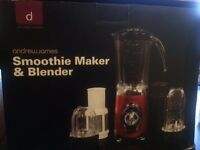 Smoothie maker, blender, grinder, juicer - 4 in 1 - Andrew James